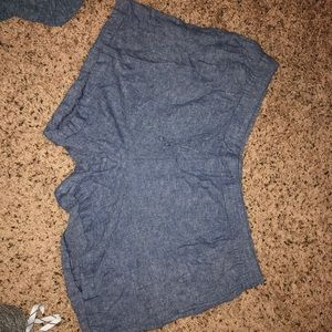 Denim Colored Lounge Shorts